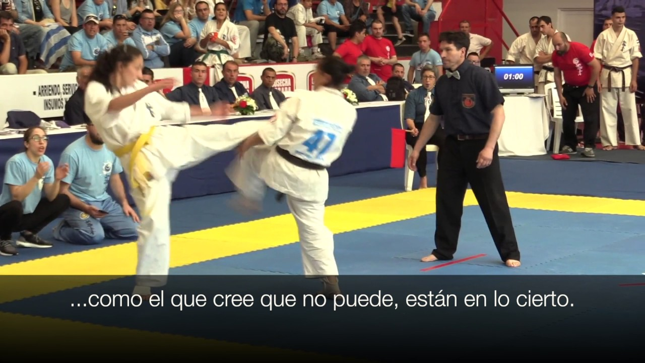 No Te Detengas Video Motivacional Shinkyokushinkai Karate
