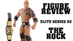 FIGURE REVIEW - WWE Mattel THE ROCK Elite Series #22 Figur (German/Deutsch)