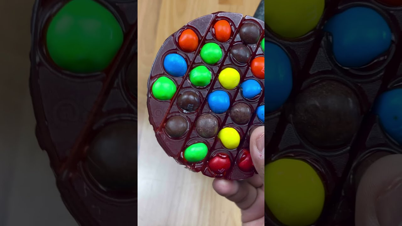 How to Make Jolly Ranchers & M&M Pop It Candy 🍭
