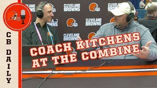 What Does Freddie Kitchens Look for at the NFL Combine?   Official Clip   Cleveland Browns Daily