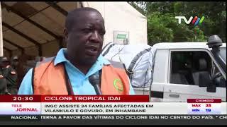 INGC assiste 34 famílias afectadas em Vilankulo e Govuro, em Inhambane