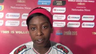 #F6WorldGrandPrix Ita-Usa - Miriam Sylla: