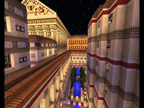 Minecraft  Roman City of Vespasianum Trailer  YouTube