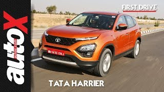 Tata Harrier Review | First Drive | autoX