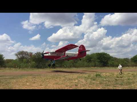 Antonov fly-by at Kazungula