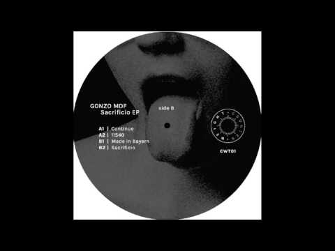 Gonzo MDF - Made in Bayern [CWT01]