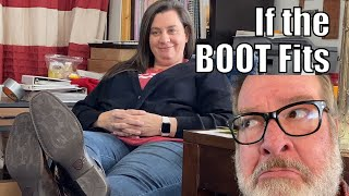 If the Boot Fits | A Big Family Homestead VLOG