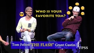 Tom asked Grant, 'Who is YOUR favorite Tom'?  Part 4!