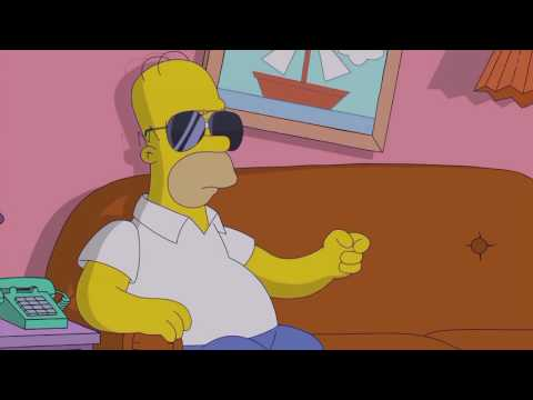 LA-Z RIDER SIMPSONS INTRO COUCH GAG (PUSH IT TO THE LIMIT)