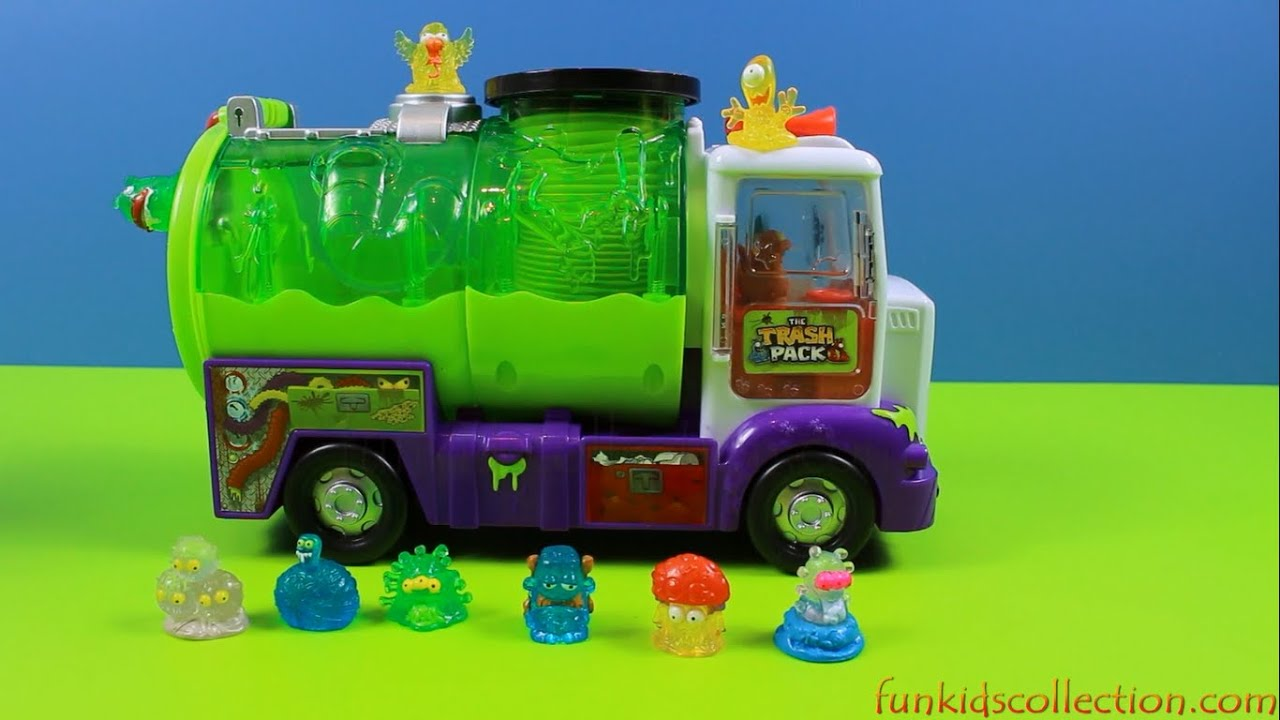 The Trash Pack Sewer Truck Bo Playset