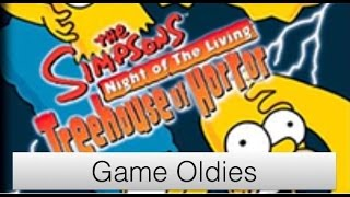 Game Oldies | Episode 37 | The Simpsons  Night of the Living Treehouse of Horror (Halloween Week)