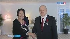 Shlyamin palkittu Suomen Leijonan ritarimerkillä