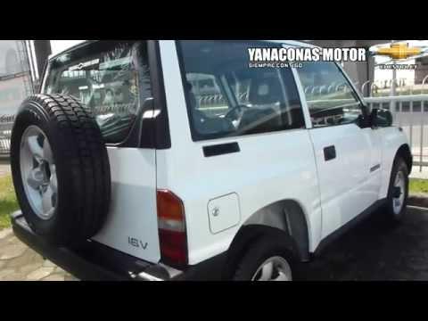 Chevrolet Vitara 3 Puertas Chevrolet Vitara Yanaconas Motor