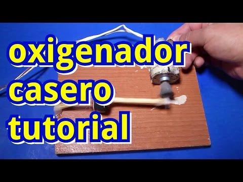 Oxigenador casero tutorial