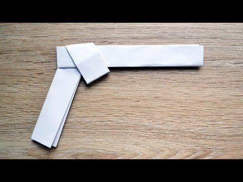 How to make a PISTOL ORIGAMI out of paper Tutorial DIY