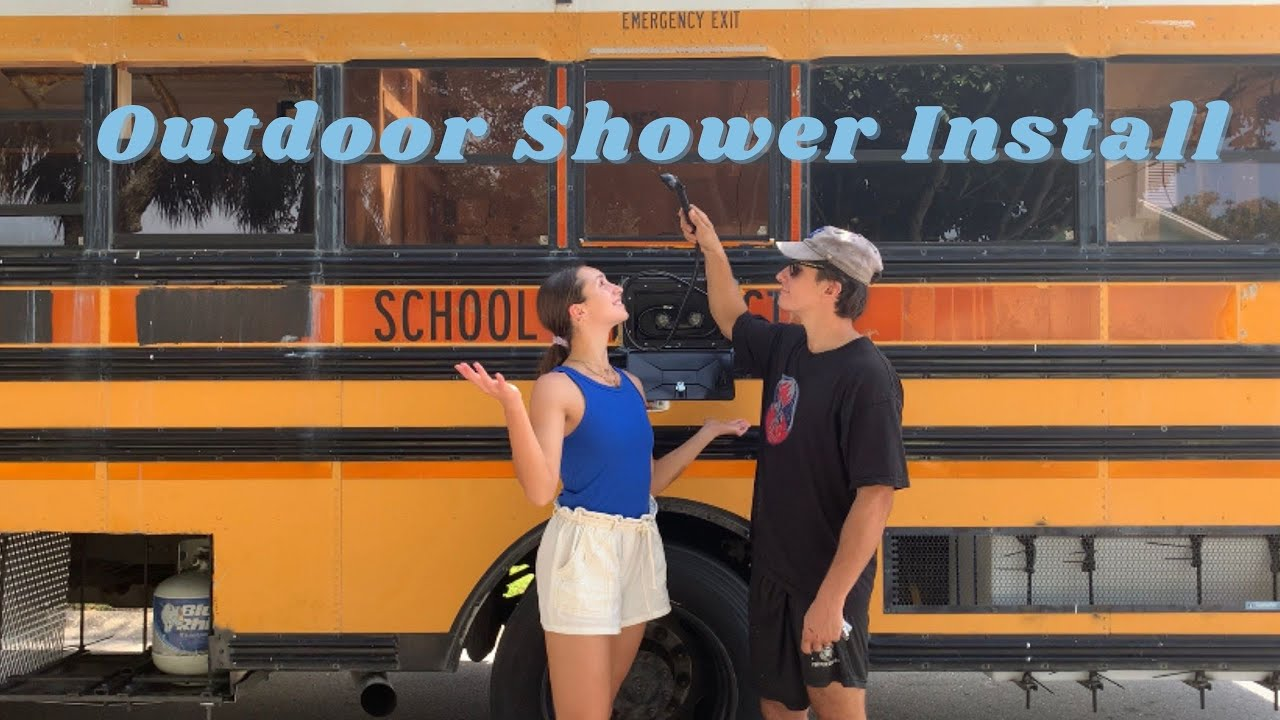 Many teardroppers feel that a camp shower is a luxury, but