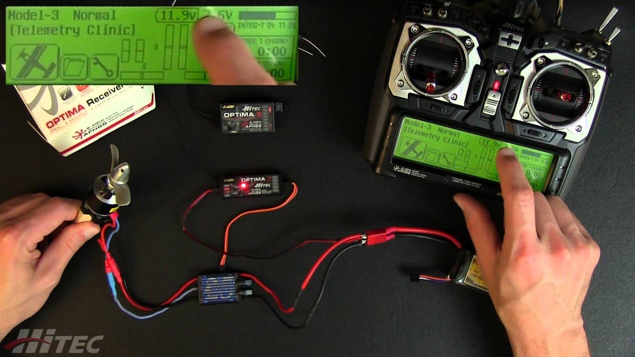 Hitec Servo Wiring Diagram Baldor Motor Diagrams 3 Phase Receiver Spc Port Clinic Youtube