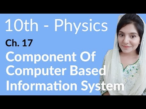 10th Class Physics, Ch 17, Components Of Computer Based Information System(CBIS)- Class 10th Physics