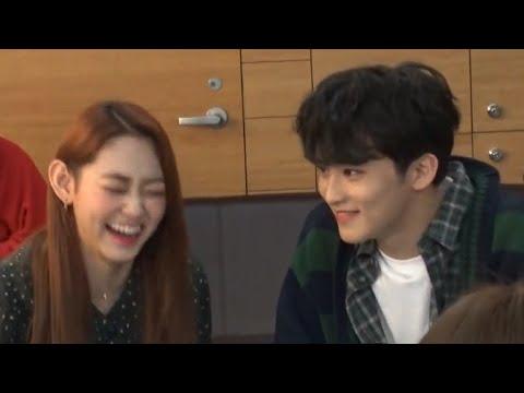 Mark NCT And Mina Gugudan MC Sweet Moments PART 4