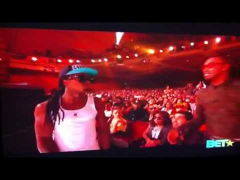 2011 BET Awards Lil Wayne painful public snub