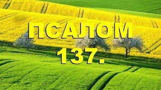 Скачать Псалтирь ПСАЛОМ 137 рус