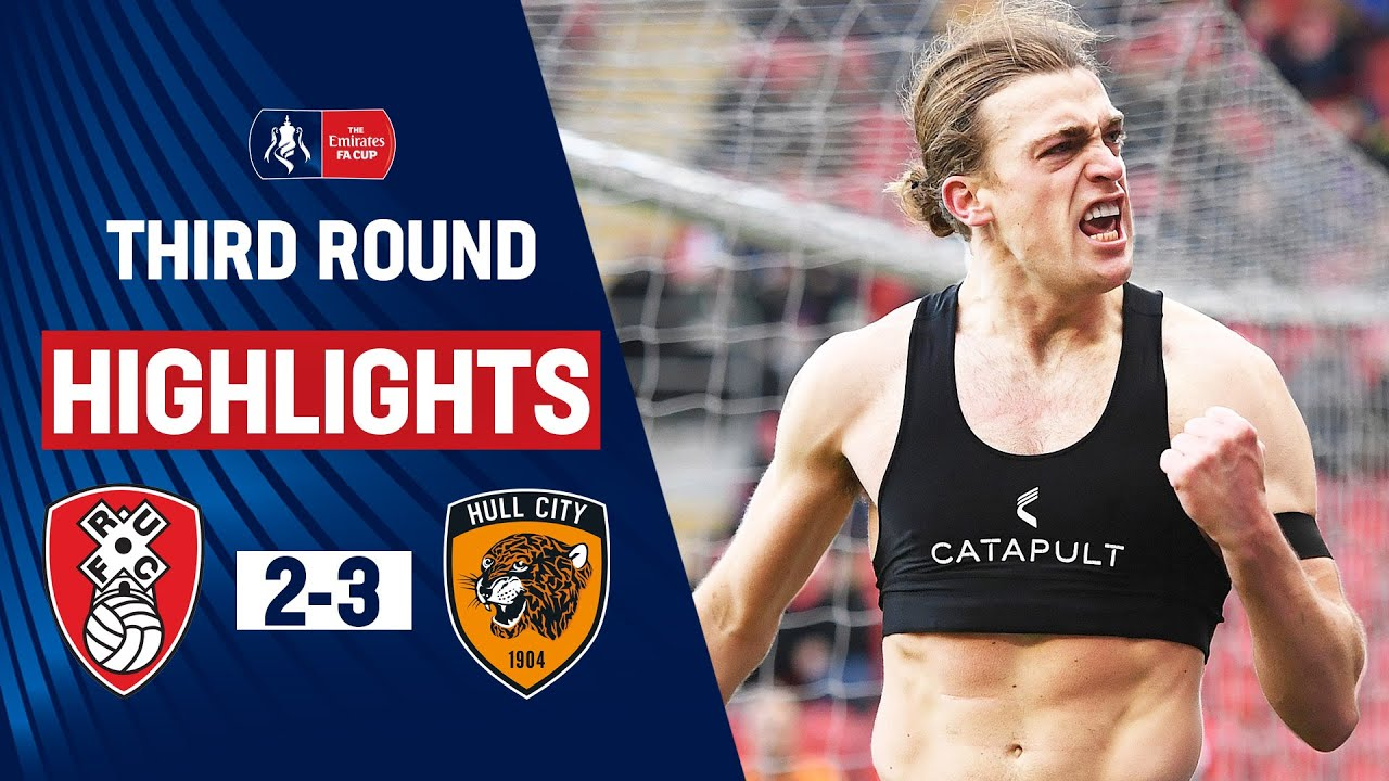 Hat-Trick Hero Eaves Wins It In Final Seconds | Rotherham 2-3 Hull City | Emirates FA Cup 19/20