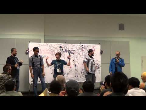 Anime Expo 2014-Super Art Fight! Art Showdown!