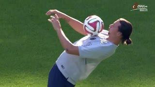 Zlatan Ibrahimovic vs RB Leipzig Away HD 720p (18/07/2014)