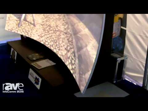 InfoComm 2015: Screen Goo and Pheonix Rising Present Compound Curve Screen for Home Theaters
