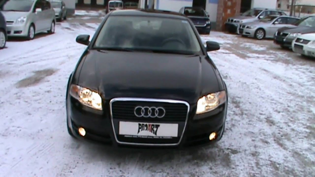 2006 Audi A4 2 0 Tdi Review Start Up Engine And In Depth Tour You