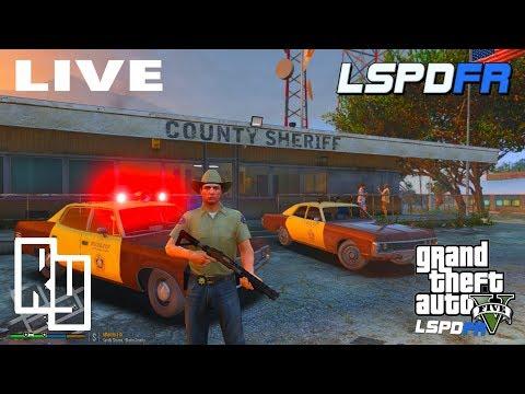 LIVE: GTA 5 LSPDFR Old School Patrol (1970 Plymouth Fury)