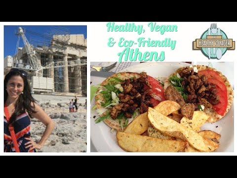Vegan Athens Greece on the Healthy Voyager's Taste of Europe Travel Show