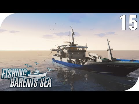 FISHING: BARENTS SEA #15 - SCHLEPPNETZFANG VERKAUFEN! 🎣 || PantoffelPlays