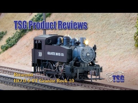 HO Scale Steam Locomotive 0-6-0 0-6-0T Tank Engine Rivarossi Product Review