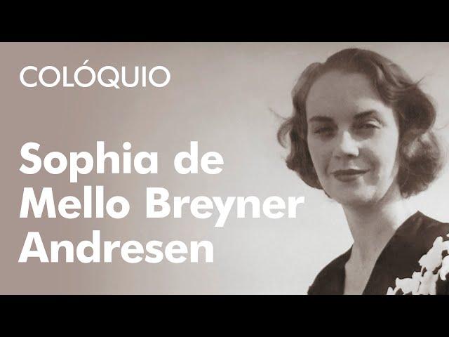 Resultado de imagem para Sophia de Mello Breyner Andresen II Colóquio Internacional