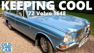 More Volvo 164 E fettling - classic old-style car numberplates are fitted to the 1972 164E etc
