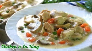 Hearty Chicken a la King Made Easy