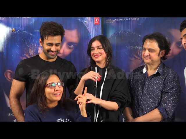 Divya Khosla Kumar,Pearl V Puri,Vinay Sapru & Radhika Rao Celebrating Success Of 3 Hattrick Songs