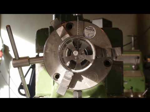Drilling out set screws on the  SK3-6374-168kv