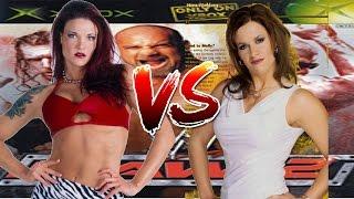 WWE RAW 2 Lita vs Molly Holly