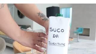Você tomaria o suco da juventude ? Participação especial de Belinha !