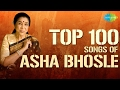 Top 100 songs of Asha Bhosle | आशा भोसले के 100 गाने | HD Songs | One Stop Jukebox | #StayHome