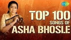 Top 100 songs of Asha Bhosle   आशा भोसले के 100 गाने   HD Songs   One Stop Jukebox   #StayHome