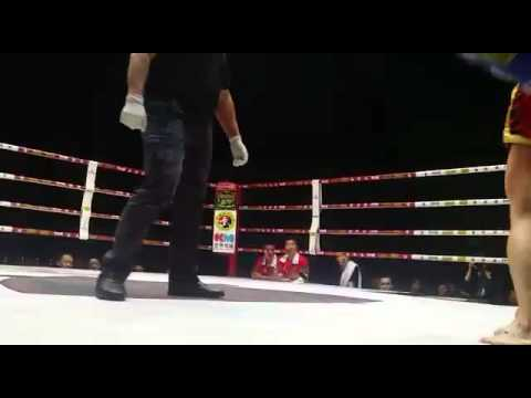 Youth Union Sports Club - Alex Tsang China fight 54kg Round 3