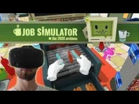 JOB SIMULATOR!! Playstation VR Edition  (read end of discription)