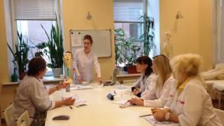 АирисКом:  урок по сестринскому делу; младшая медсестра