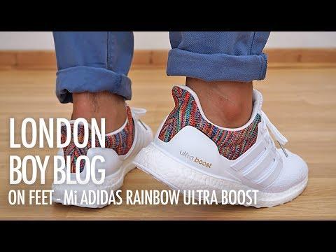 adidas Ultra Boost 1.0 White Multicolor – 'Rainbow Toe' (2