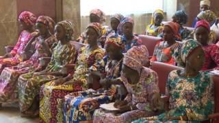 President Meets Released Chibok Girls