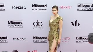 Alexandra Daddario 2017 Billboard Music Awards Magenta Carpet