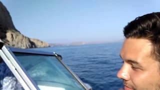 Новый Свет Крым Царский пляж на катере вдоль тропы Голицына(Новый Свет находится в Крыму недалеко от Судака. Вокруг горы, можжевеловые рощи, прозрачное море. По чистоте..., 2016-07-28T12:02:58.000Z)